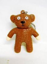 The Original Mr. Bean Teddy Keychain