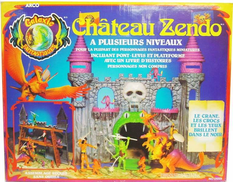 The Other World - Castle Zendo playset - Arco France