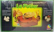 Le Potier - Coffret d\'apprentissage créatif - Jeux Laffont 1983