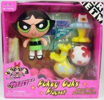 The Powerpuff Girls Les Supers Nanas - Pokey Oaks Playset & Rebelle - Trendmasters