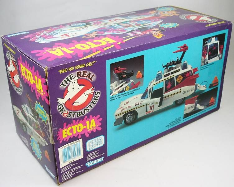 The Real Ghostbusters - Ecto-1A - Kenner