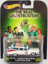 The Real Ghostbusters - Hot Wheels - Mattel - Ecto-1 Cartoon car
