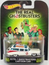 The Real Ghostbusters - Hot Wheels - Mattel - Ecto-1 Cartoon car