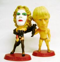 The Rocky Horror Picture Show - Set of 2  PVC Mini-Statues - Janet Weiss & Rocky Horror