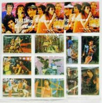 The Rolling Stones - 2 x 3-D Stickers Boards (Mint) - Musidor B.V. 1983