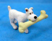 The Secret of the Unicorn - Plastoy pvc figure - Snowy with bone