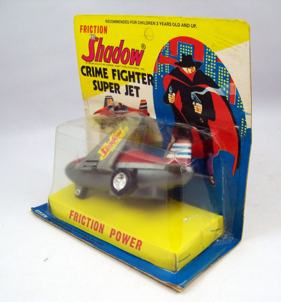 The Shadow - Crime Fighter Super Jet  (Friction Power) - Madison 1977