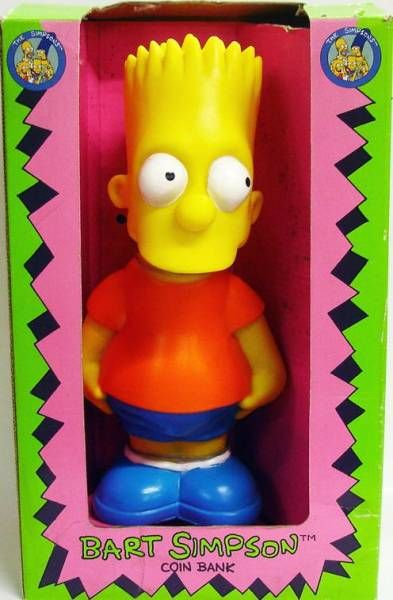 The Simpsons - Bank - Bart (orange shirt)