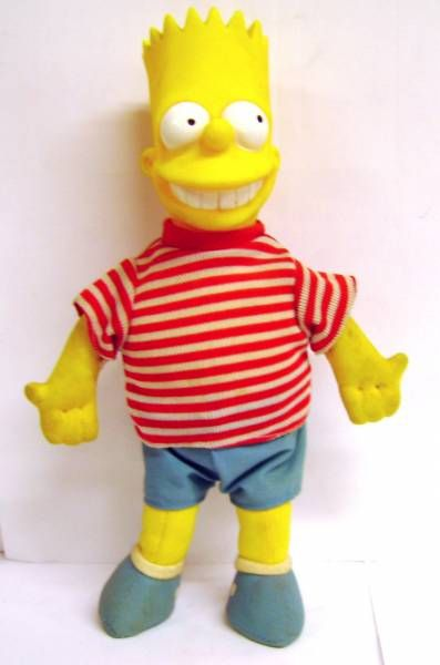 The Simpsons - Burger King Premium Doll - Bart