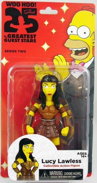 The Simpsons - NECA - Lucy Lawless as Xena