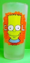 The Simpsons - Tropico Diffusion - Set of 6 water glasses (big size) Bart Simpson