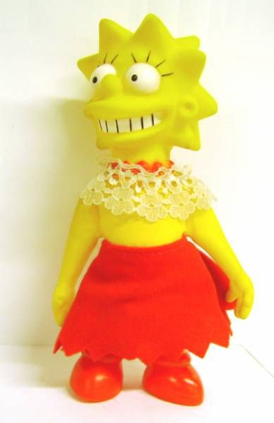 The Simpsons - Vinyl doll - Lisa