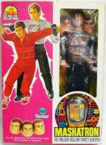 The Six Million Dollar Man - 12\'\' Doll - Maskatron - Mint in box - Kenner