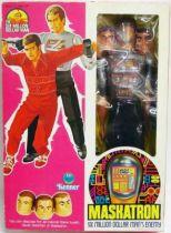 The Six Million Dollar Man - 12\'\' Doll - Maskatron - Mint in box - Kenner