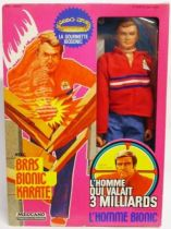 The Six Million Dollar Man - 12\'\' Doll - Steve Austin \'\'Biosonic Arm\'\' - mint in box Meccano