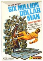 The Six Million Dollar Man - Merchandising Fundimensions Scale Model Kit - Bionic Bustout - Mint in box