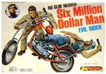 The Six Million Dollar Man - Merchandising Fundimensions Scale Model Kit - Evil Rider - Mint in box