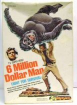 The Six Million Dollar Man - Merchandising Fundimensions Scale Model Kit - Fight for survival - Mint in box