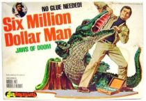 The Six Million Dollar Man - Merchandising Fundimensions Scale Model Kit - Jaws of doom - Mint in box