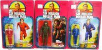 The Six Million Dollar Man - Zica - Set de 3 figurines : Steve Austin & Bionic Bigfoot