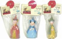 The Sleeping Beauty - Delacoste squeeze toy - The 3 goods fairies