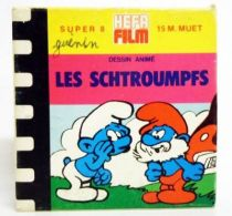 The Smurfs  - Hefa Film Super 8 Color Movie - The Smurfs and the Birds (ref.382)