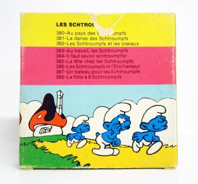 The Smurfs  - Hefa Film Super 8 Color Movie - The Smurfs and the Birds (ref.382)