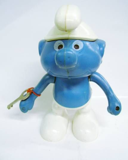 The Smurfs - Bank - Smurf (Mint) - Juwa