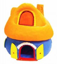The Smurfs - Bully - Big House  with Balcony (blue and orange)