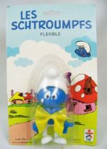 The Smurfs - Céji Bendable Figure - Sad Smurf (mint on card)