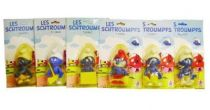 The Smurfs - C�ji Bendable Figures - Set of 6 Smurfs (mint on card)