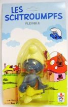 The Smurfs - Céji Bendable Figures - Set of 6 Smurfs (mint on card)