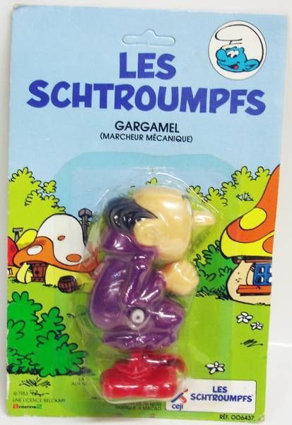The Smurfs - Céji Wind up - Gargamel (mint on card)