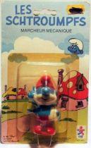 The Smurfs - Céji Wind up - Papa Smurf (mint on card