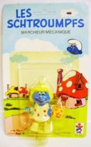 The Smurfs - C�ji Wind up - Smurfette (mint on card)