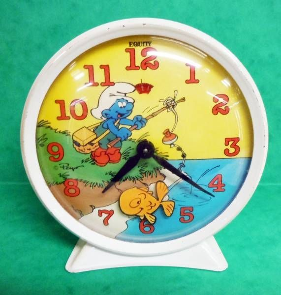 The Smurfs - Equity Animated Alarm Clock
