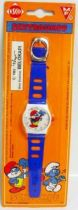 The Smurfs - Esco Kidsize Wrist watch - Papa Smurf (Mint on card)