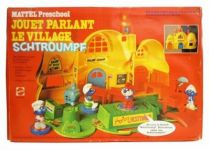 The Smurfs - Mattel Preschool - Magic Talk Smurf Village