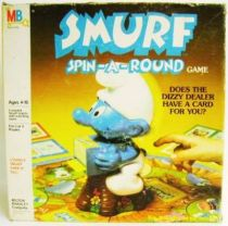 The Smurfs - MB Board Game - Smurfs Spin-a-Round