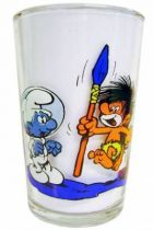 The Smurfs - Mustard glass Amora - Cosmosmurf & Schlimps