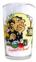 The Smurfs - Mustard glass Amora - Gargamel & Azraël