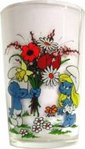 The Smurfs - Mustard glass Amora - Loving Smurf of Smurfette