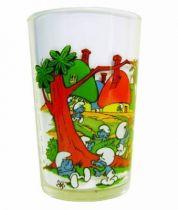 The Smurfs - Mustard glass Amora - Smurf\\\'s Village