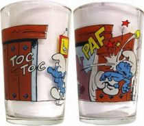 The Smurfs - Mustard glass Benedictin - Scene with 2 frames