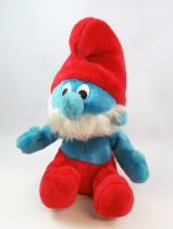 The Smurfs - Orli-Jouet Plush doll - 12\'\' Papa Smurf (loose)