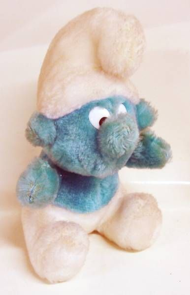 The Smurfs - Orli-Jouet Plush doll - 8\'\' Smurf (loose)
