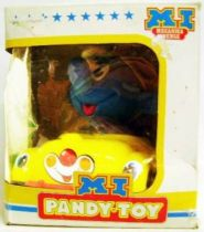 The Smurfs - Pandy Toy / Barval Wind up - Smurf in Car (mint in box)