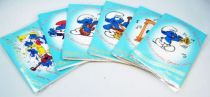 The Smurfs - Papo 1983 - Lot of 6 Magic Music Greeting Cards