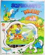 The Smurfs - Piano - Smurf Table Piano (mint in box) - Orli-Jouet / Faiplast