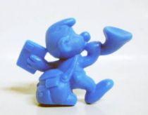 The Smurfs - Premium Figure OMO - Postman Smurf